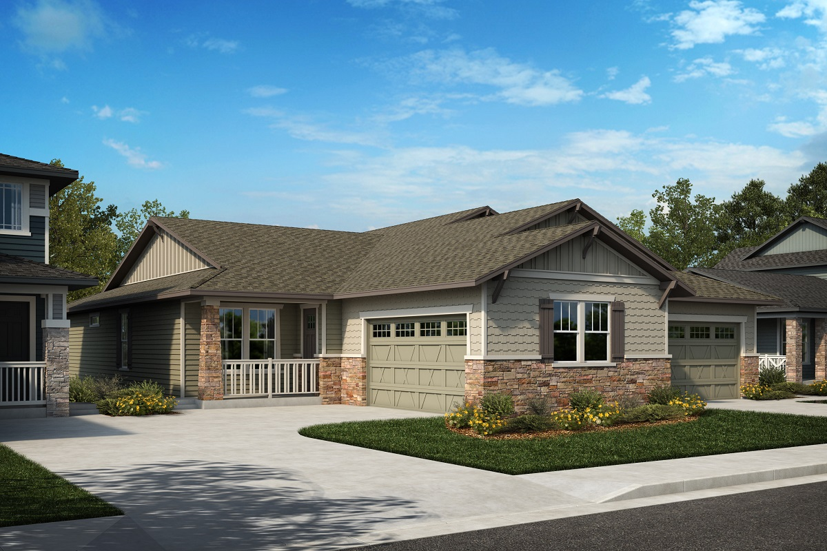 New Homes in Arvada, CO - Plan 1774 & Plan 1652 Elevation 18B