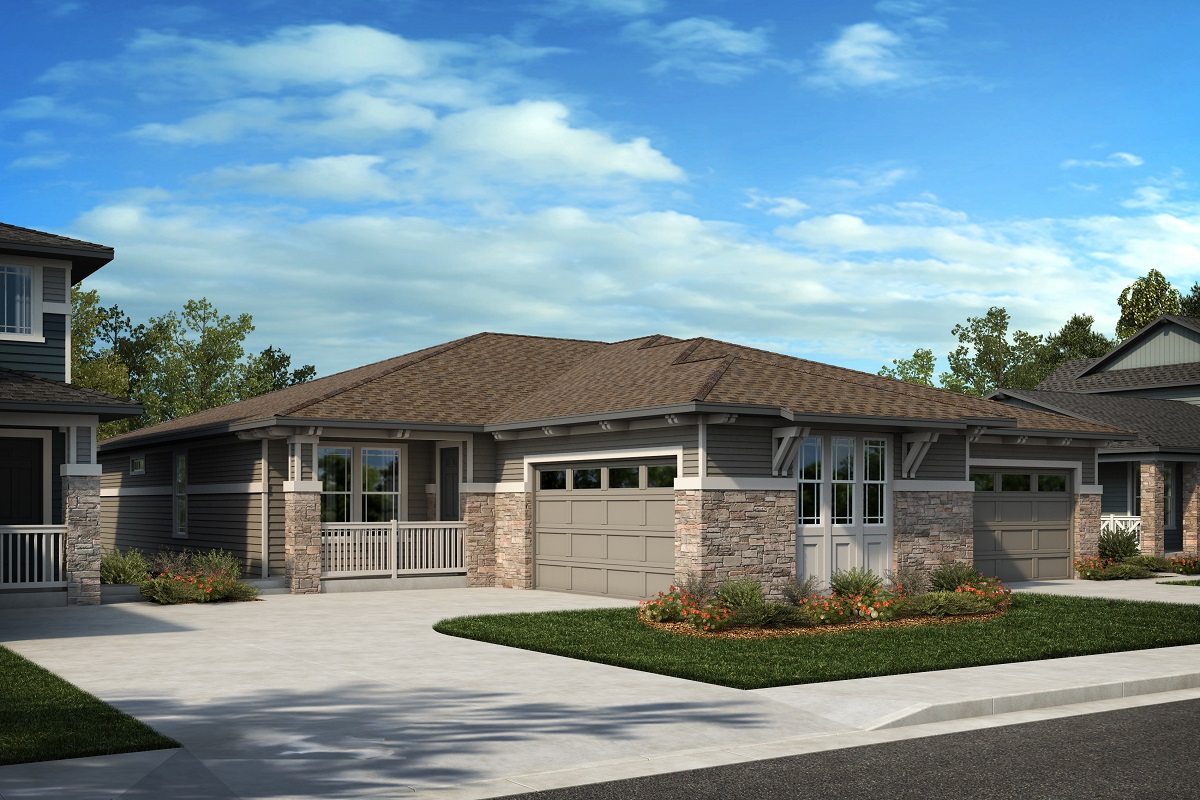 New Homes in Arvada, CO - Plan 1774 & Plan 1652 Elevation 18C