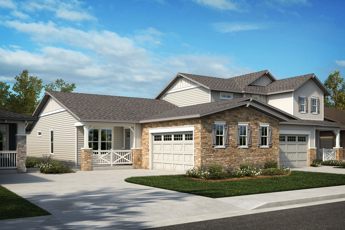 New Homes in Arvada, CO - Plan 1774 & Plan 1844 Elevation 24A