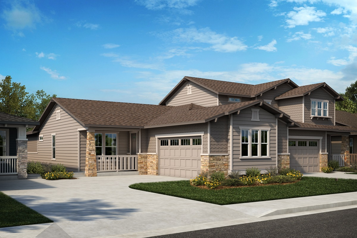 New Homes in Arvada, CO - Plan 1774 & Plan 1844 Elevation 24B