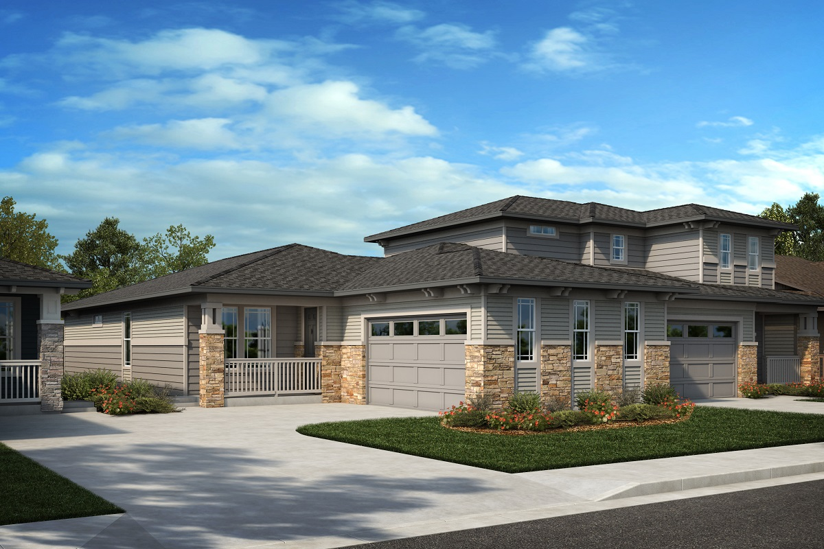 New Homes in Arvada, CO - Plan 1774 & Plan 1844 Elevation 24C