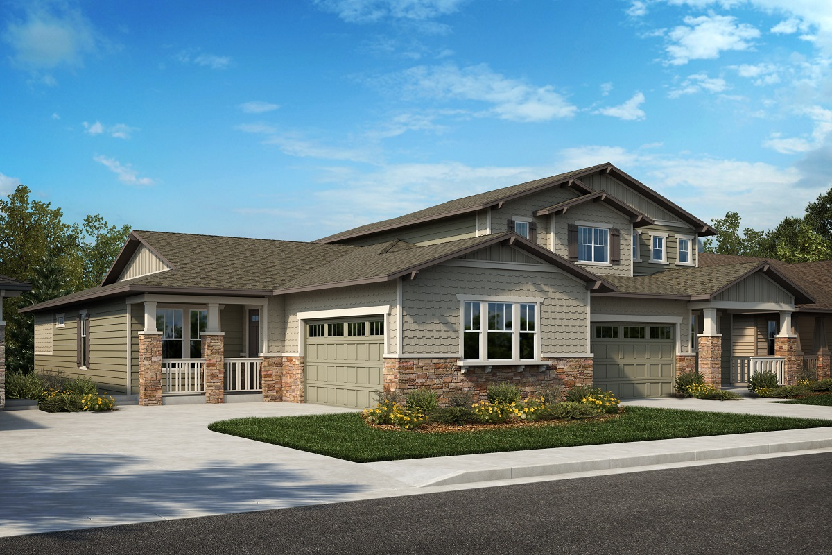 New Homes in Arvada, CO - Plan 1774 & Plan 2479 Elevation 28B