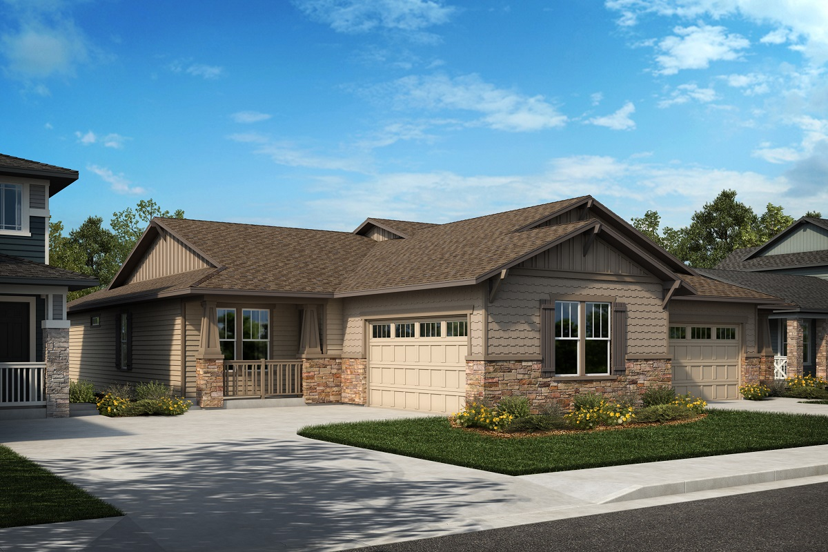 New Homes in Arvada, CO - Plan 1774 & Plan 1632 Elevation 5B