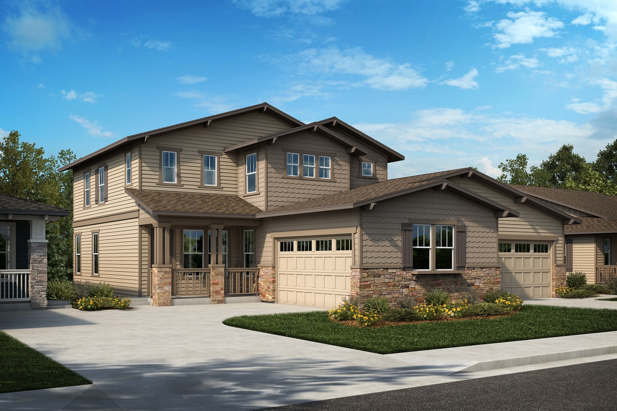 New Homes in Arvada, CO - Plan 2343 & Plan 1652 Elevation 21B