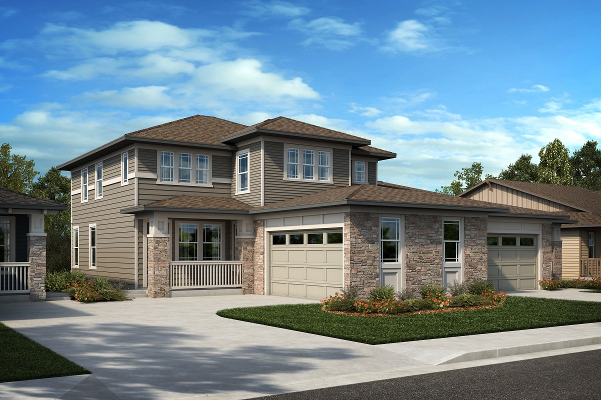 New Homes in Arvada, CO - Plan 2343 & Plan 1632 Elevation 23C