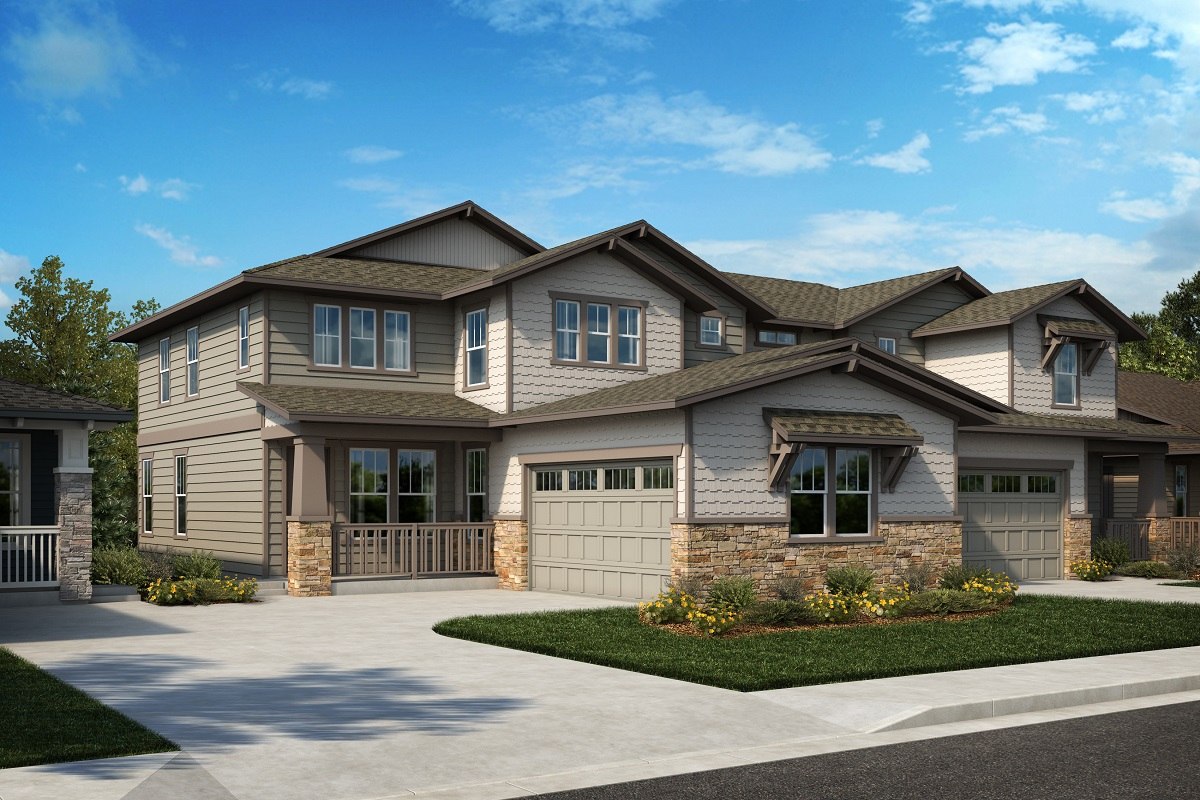 New Homes in Arvada, CO - Plan 2343 & Plan 1844 Elevation 27B