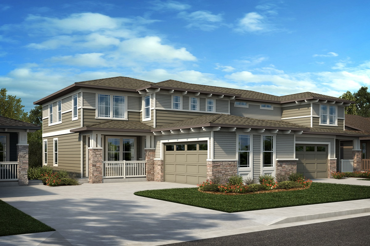 New Homes in Arvada, CO - Plan 2343 & Plan 1844 Elevation 27C
