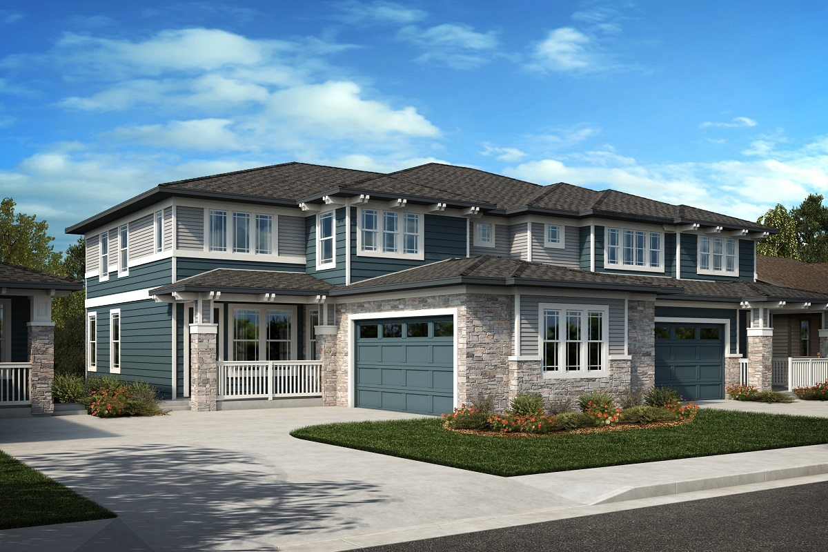 New Homes in Arvada, CO - Plan 2343 & Plan 2479 Elevation 31C