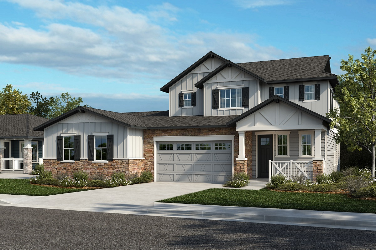 New Homes in Arvada, CO - Plan 1780 & Plan 2479 Elevation 28A