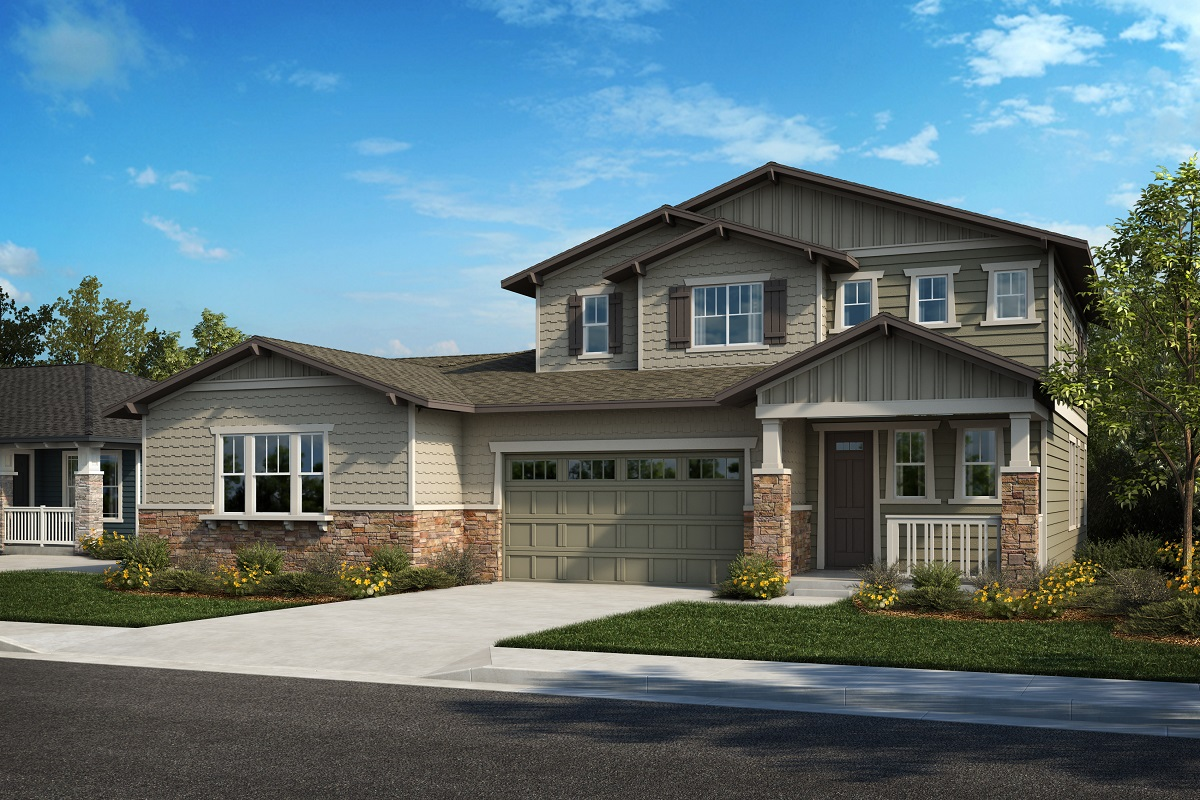 New Homes in Arvada, CO - Plan 1780 & Plan 2479 Elevation 28B