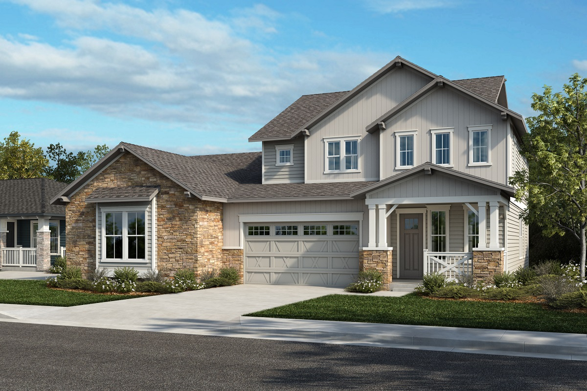 New Homes in Arvada, CO - Plan 1738 & Plan 2479 Elevation 29A
