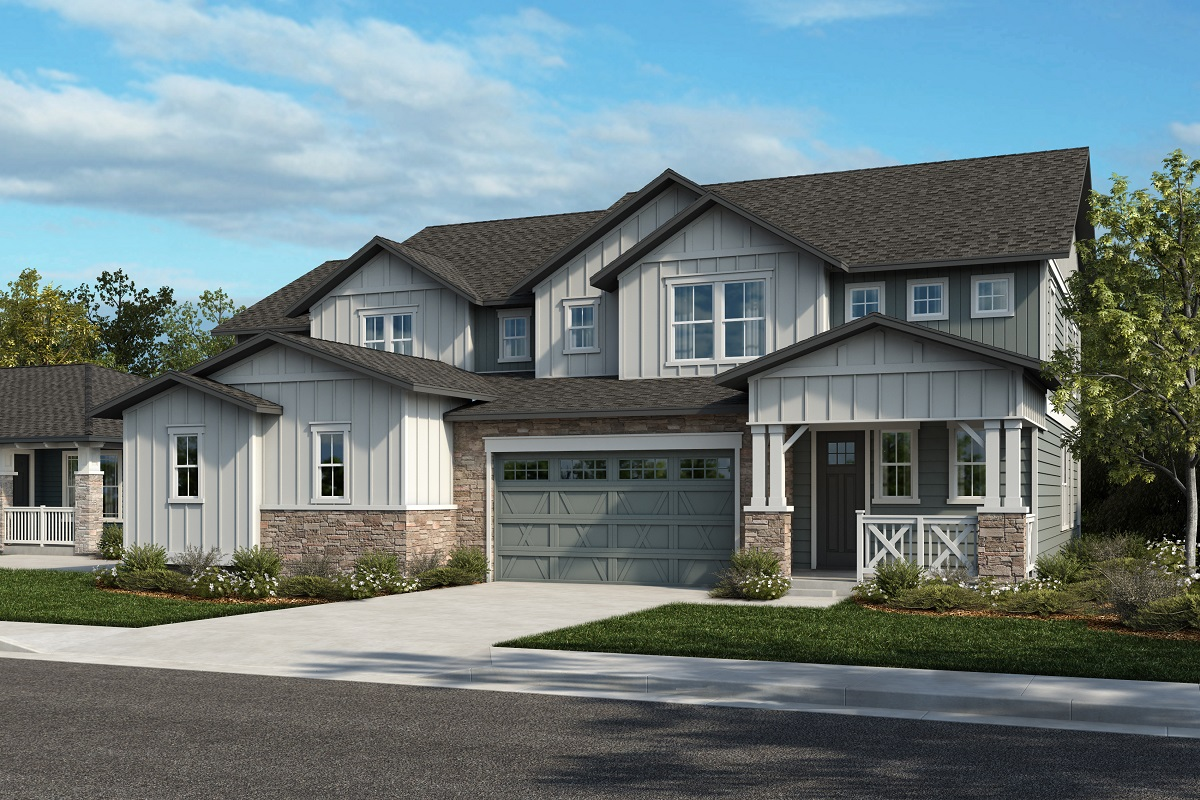 New Homes in Arvada, CO - Plan 2343 & Plan 2479 Elevation 31A