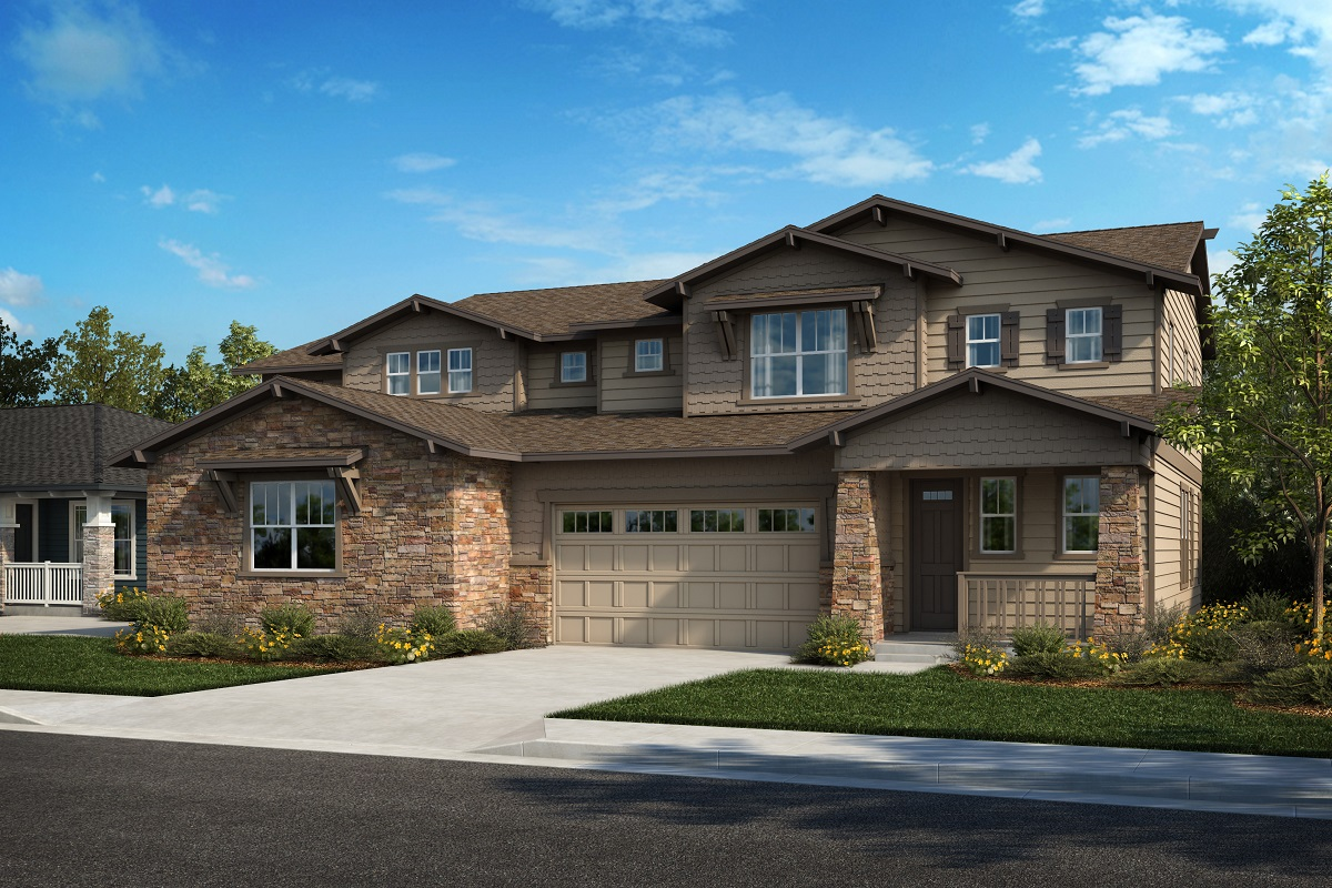 New Homes in Arvada, CO - Plan 2343 & Plan 2479 Elevation 31B