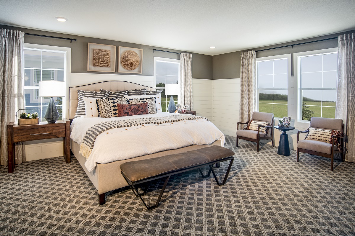 New Homes in Castle Pines, CO - The Canyons - Classic Collection Plan 1923 Master Bedroom