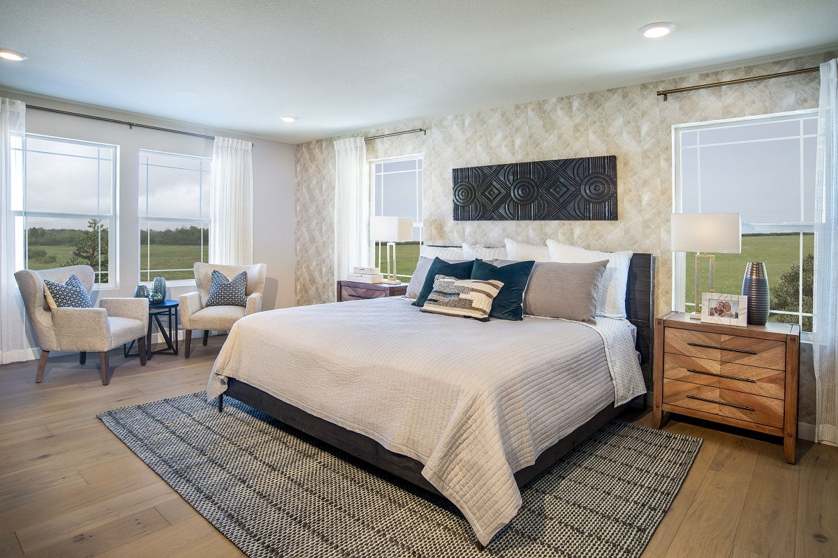 New Homes in Castle Pines, CO - The Canyons - Classic Collection Plan 2282 Master Bedroom
