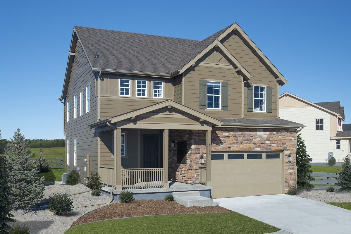 New Homes in Castle Pines, CO - The Canyons - Classic Collection Plan 1923 Model Home