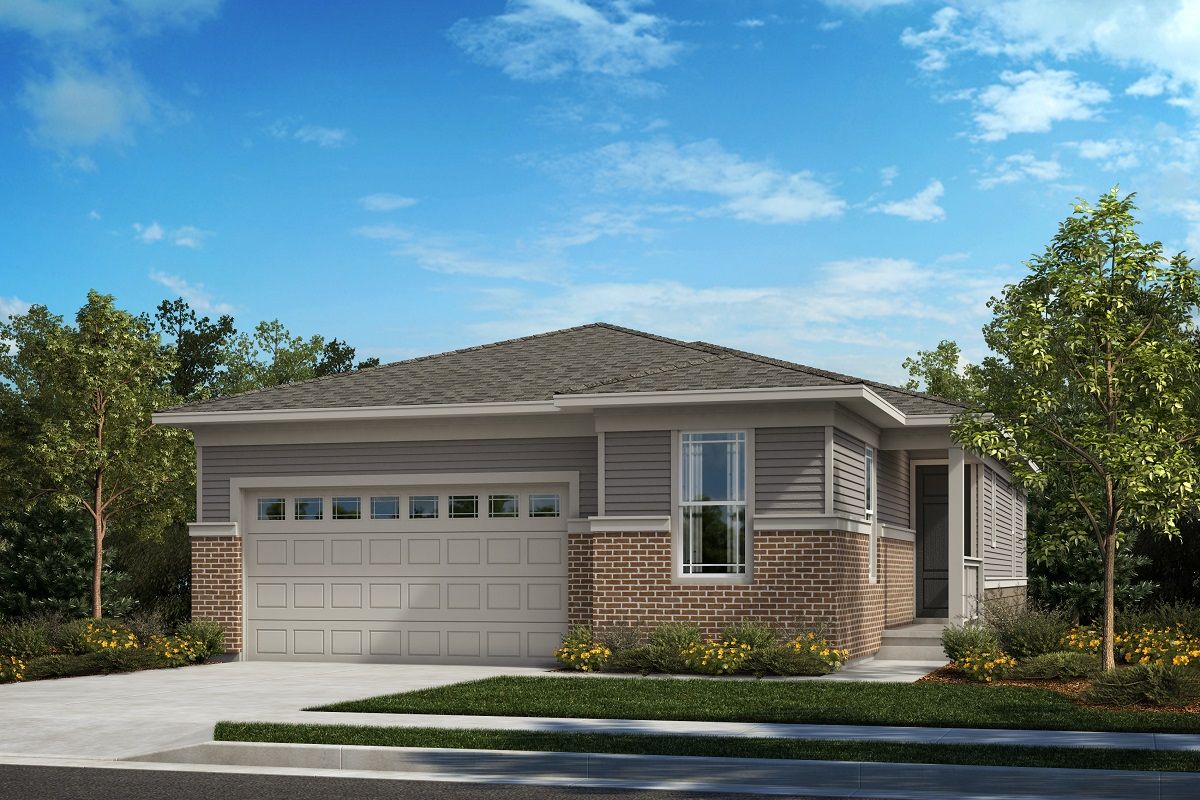 New Homes in Castle Pines, CO - The Canyons - Classic Collection Plan 1887 - Prairie Elevation