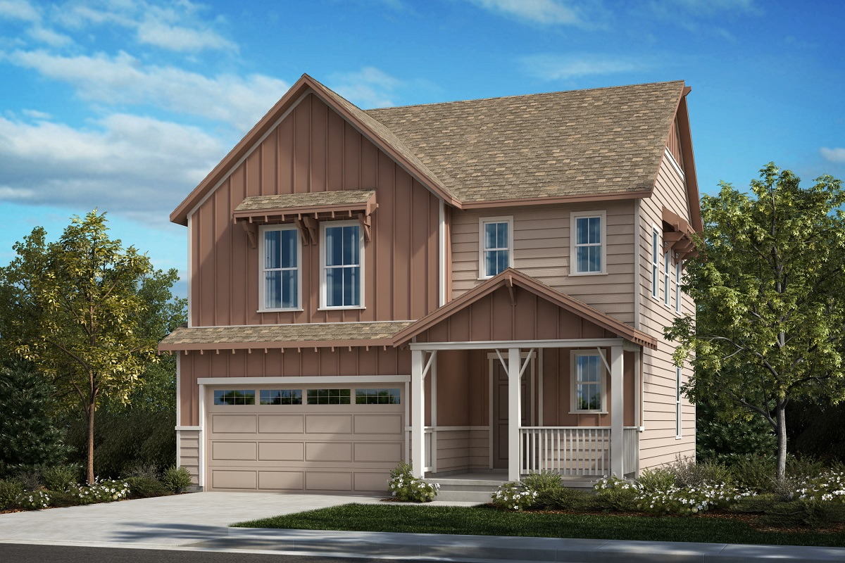 New Homes in Castle Pines, CO - Plan 1923 - Farmhouse Elevation