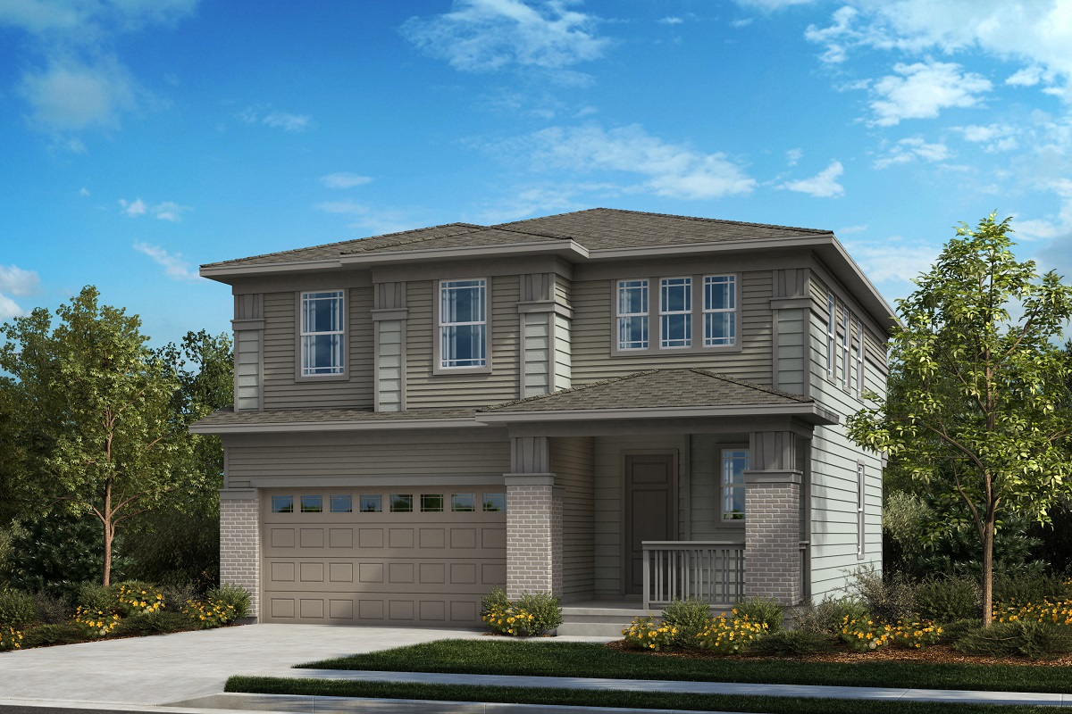 New Homes in Castle Pines, CO - Plan 1923 - Prairie Elevation