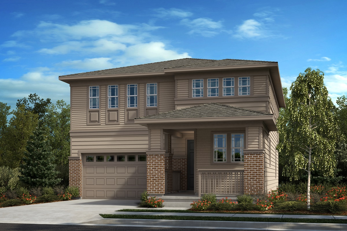 New Homes in Castle Pines, CO - Plan 2282 - Prairie Elevation