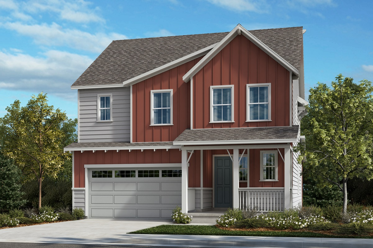 New Homes in Castle Pines, CO - The Canyons - Classic Collection Plan 2412 - Farmhouse Elevation