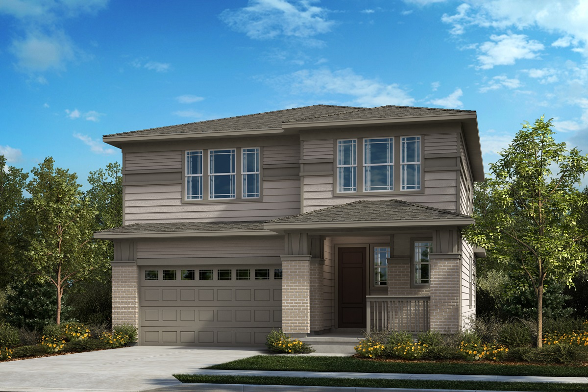 New Homes in Castle Pines, CO - The Canyons - Classic Collection Plan 2412 - Prairie Elevation
