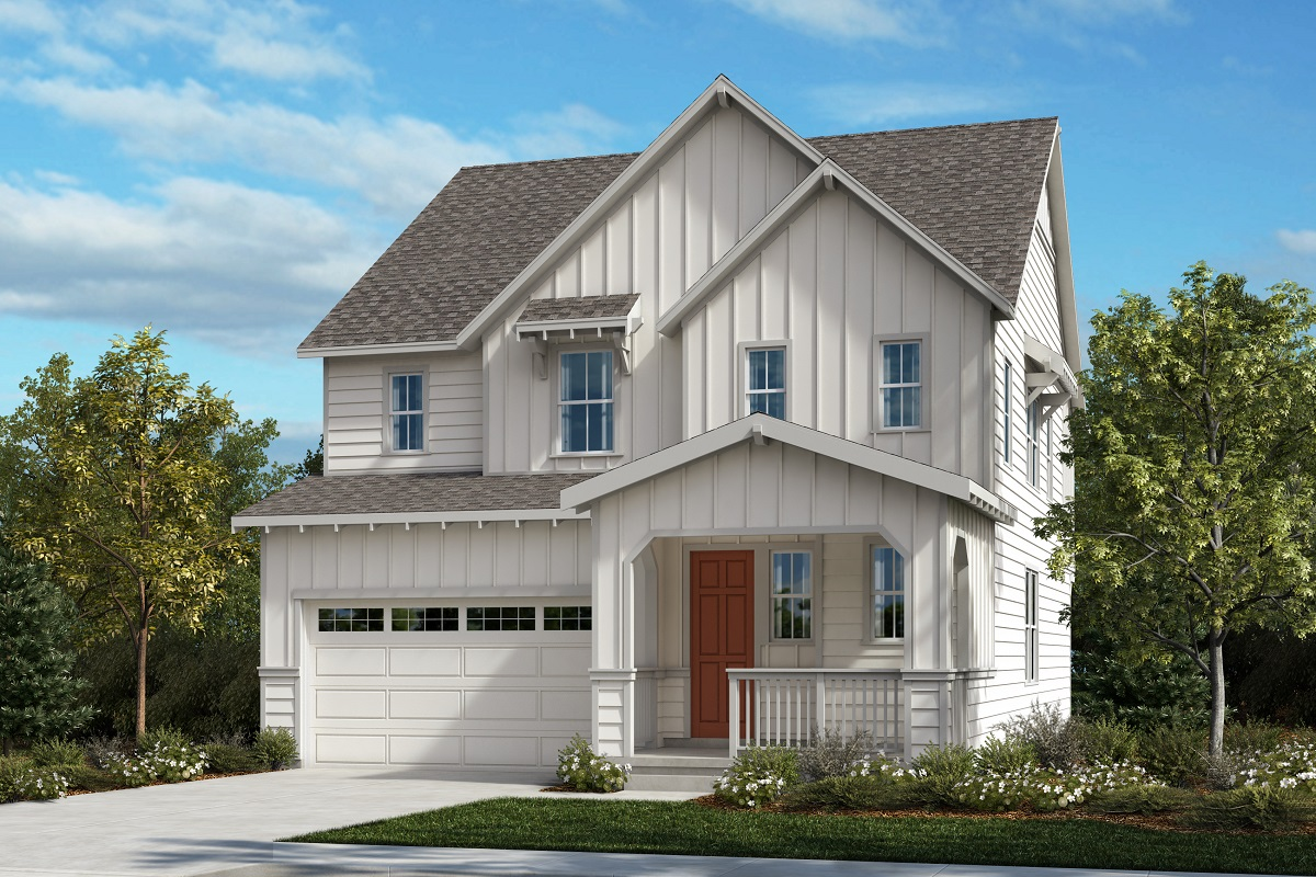 New Homes in Castle Pines, CO - The Canyons Sparkle - Farmhouse Elevation