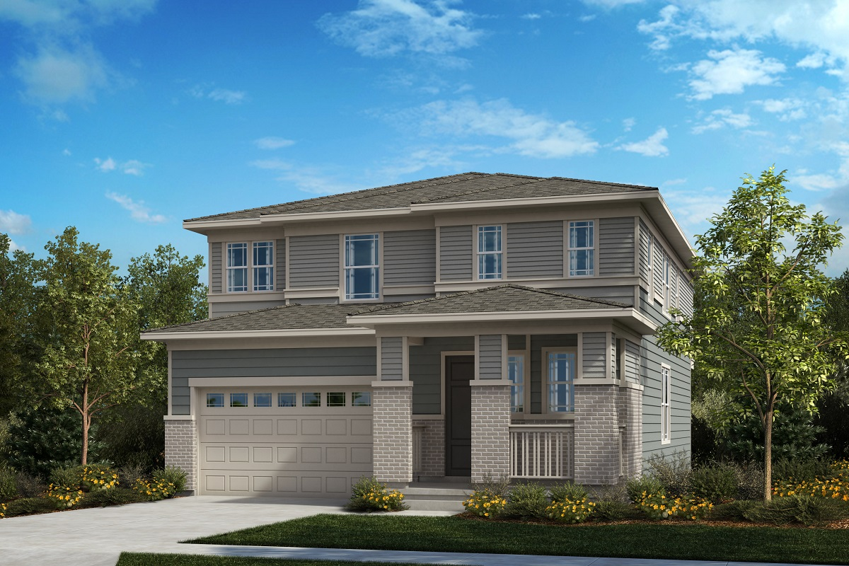 New Homes in Castle Pines, CO - Plan 2502 - Prairie Elevation