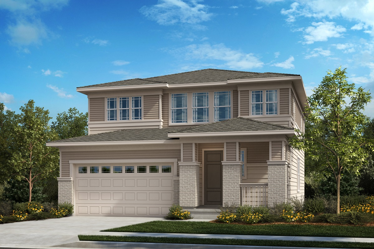 New Homes in Castle Pines, CO - Plan 2583 - Prairie Elevation