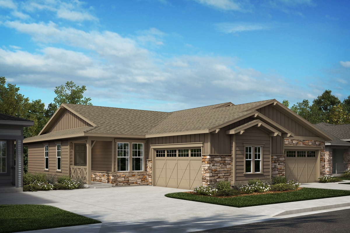 New Homes in Castle Pines, CO - Plan 1498 & Plan 1552 Elevation A
