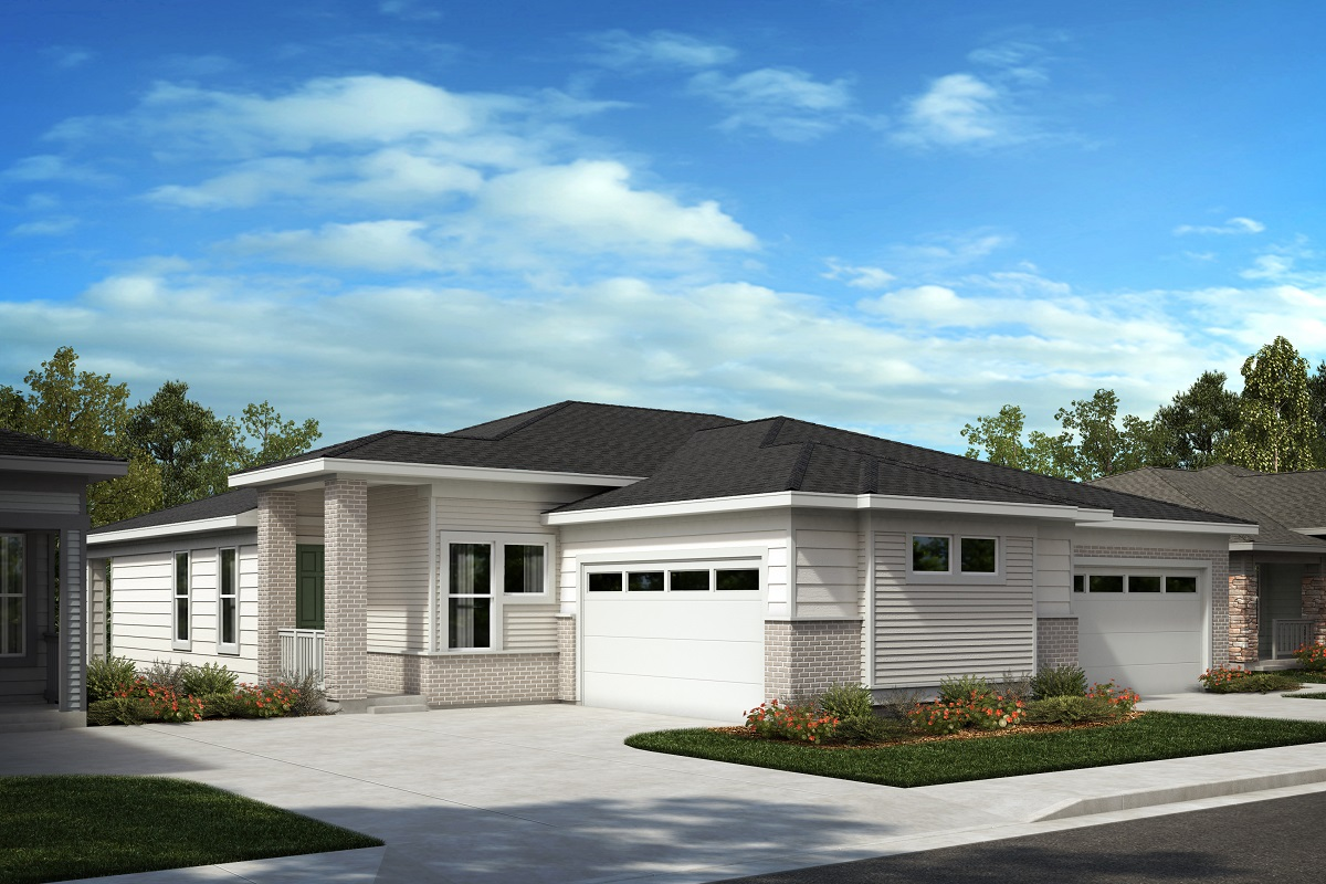 New Homes in Castle Pines, CO - Plan 1498 & Plan 1552 Elevation C