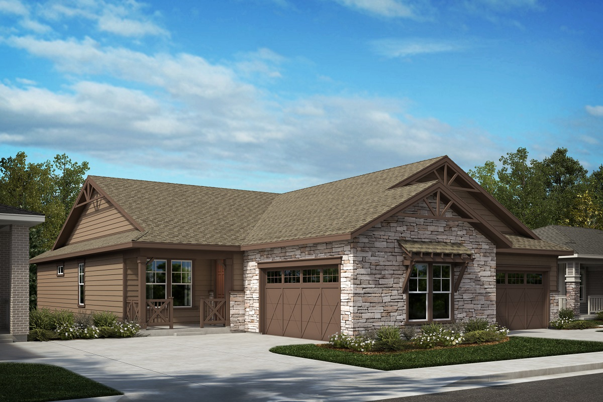 New Homes in Castle Pines, CO - Ambience - Colorado Ranch