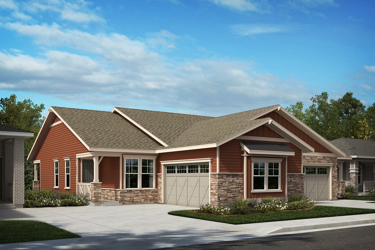 New Homes in Castle Pines, CO - Plan 1498 & Plan 1632 Elevation A
