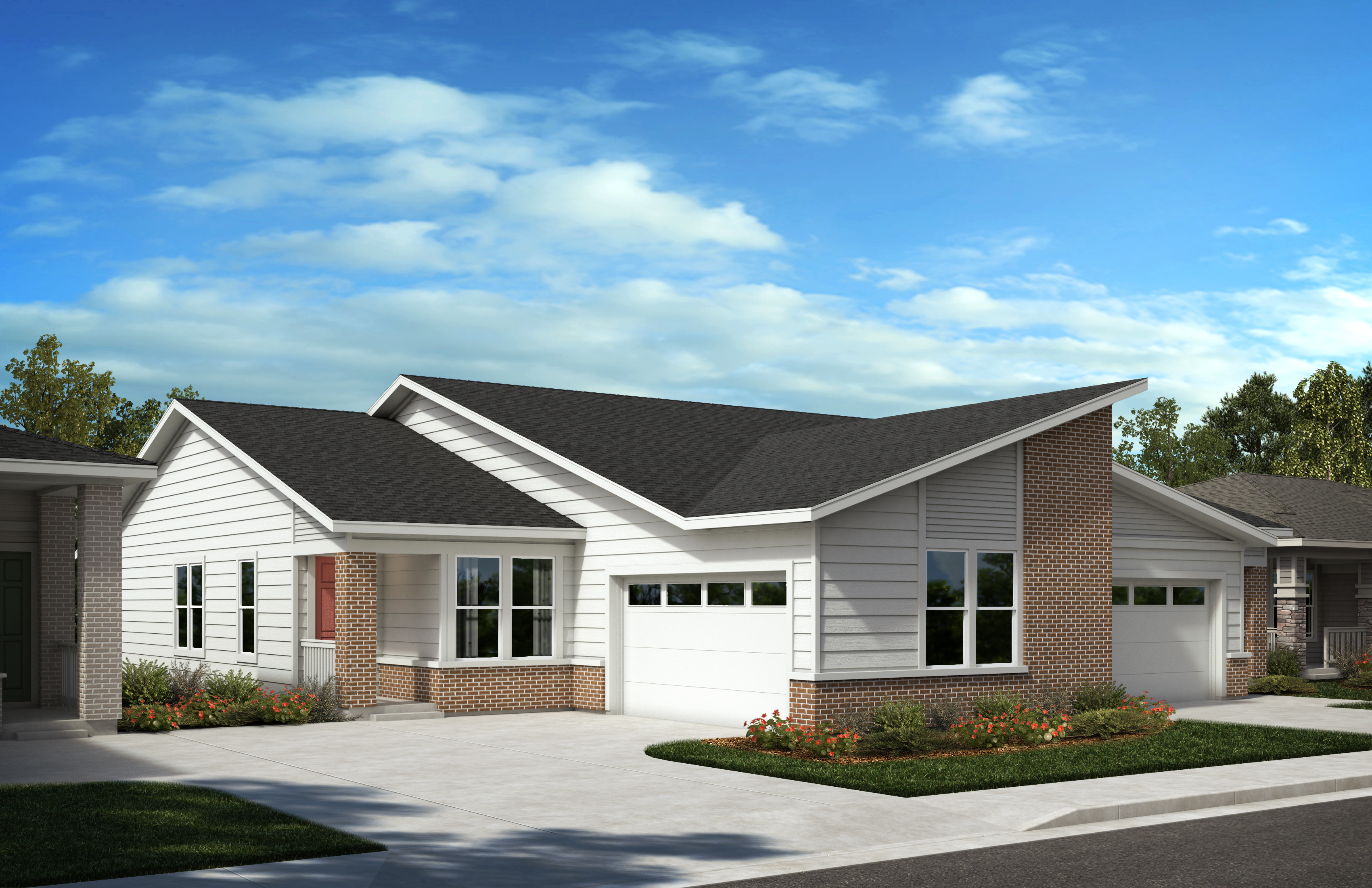 New Homes in Castle Pines, CO - Plan 1738 - Modern Colorado