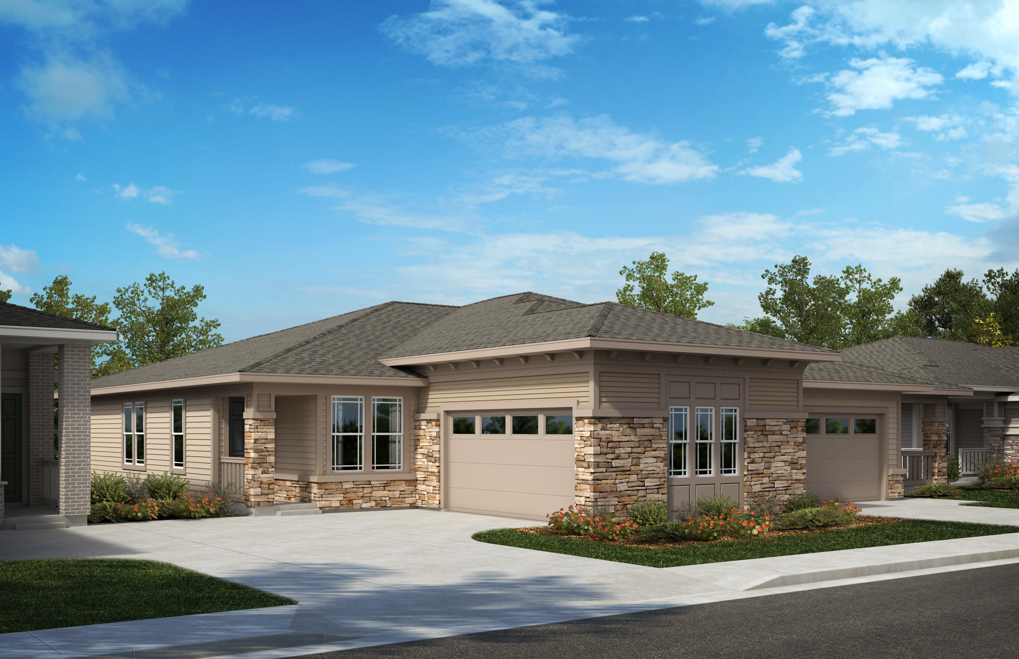 New Homes in Castle Pines, CO - Plan 1738 - Modern Prairie