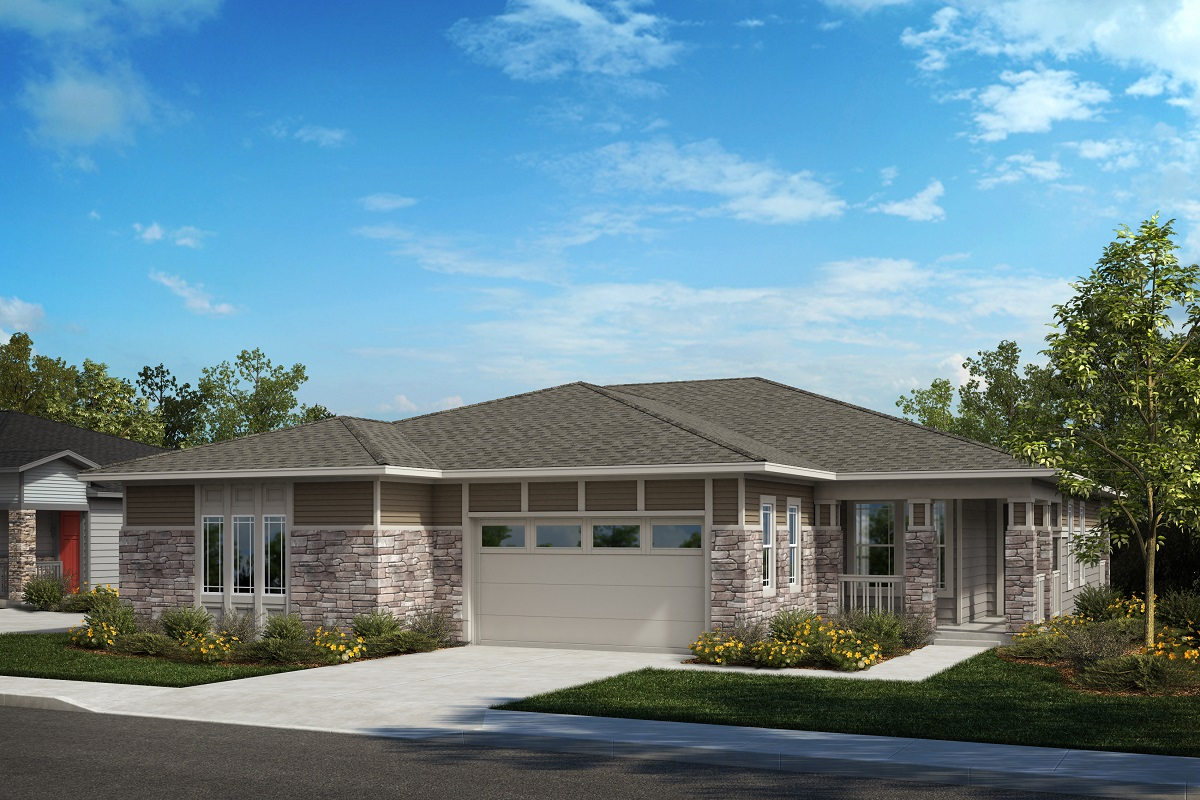New Homes in Castle Pines, CO - Plan 1780 & Plan 1498 Elevation B