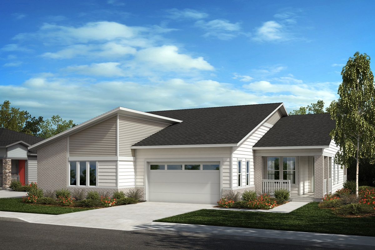 New Homes in Castle Pines, CO - Plan 1780 & Plan 1498 Elevation C
