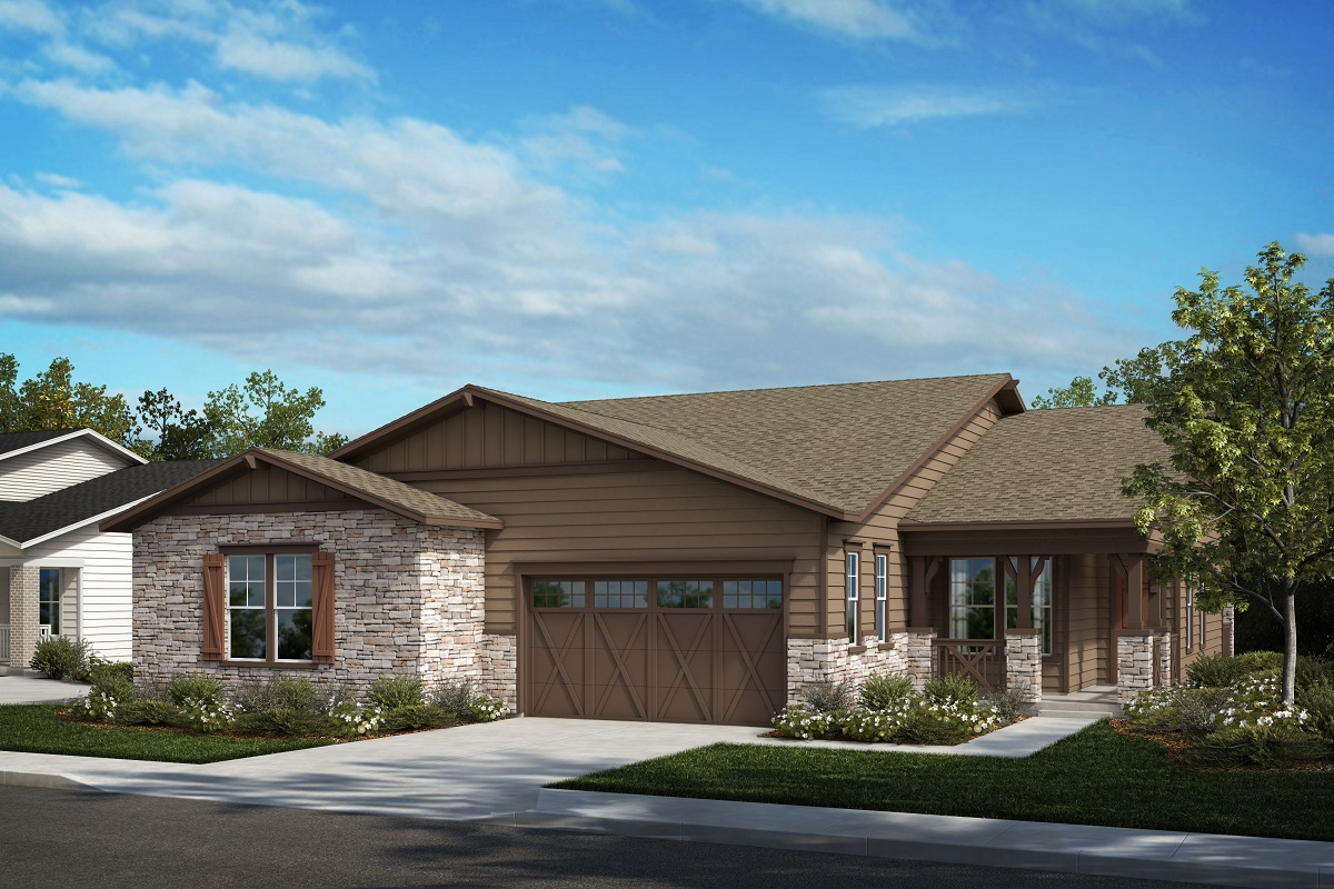 New Homes in Castle Pines, CO - Plan 1789 & Plan 1498 Elevation A