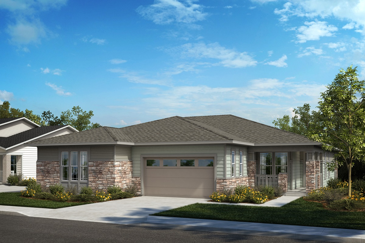 New Homes in Castle Pines, CO - Plan 1789 & Plan 1498 Elevation B