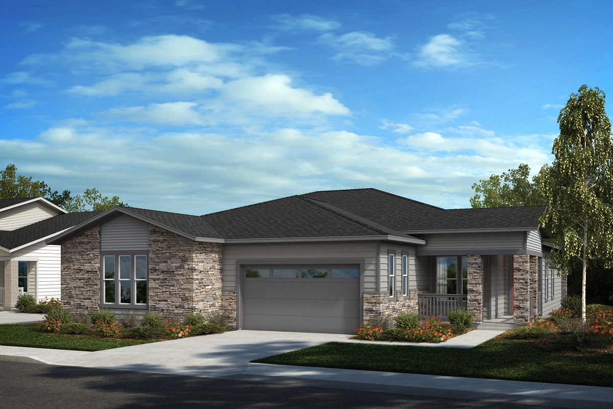 New Homes in Castle Pines, CO - Plan 1789 & Plan 1498 Elevation C