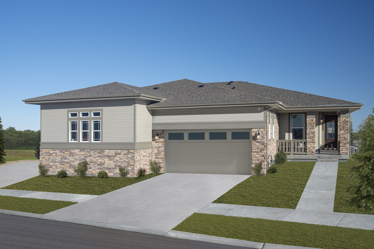 New Homes in Castle Pines, CO - Plan 1738 Modeled
