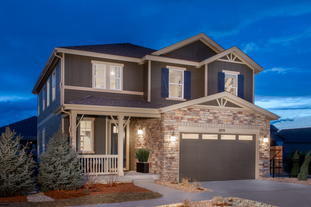 New Homes in Loveland, CO - The Lakes at Centerra Plan 1923 - Elevation C
