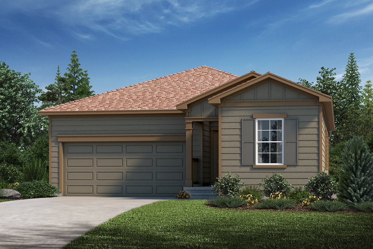 New Homes in Loveland, CO - Plan 1382 Elevation A