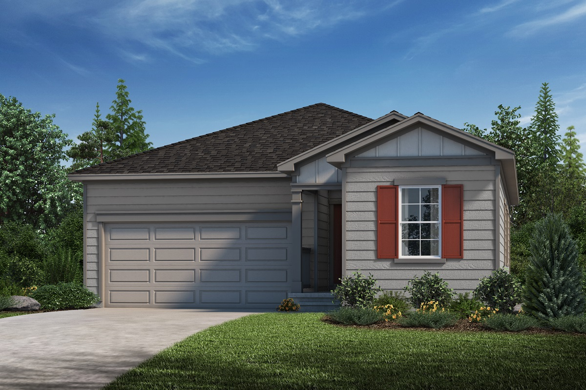 New Homes in Loveland, CO - The Lakes at Centerra Plan 1382 - Elevation A
