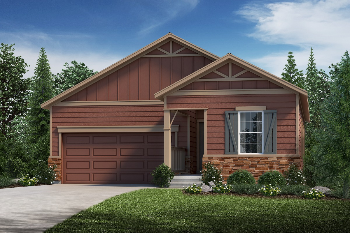 New Homes in Loveland, CO - Plan 1382 - Elevation B