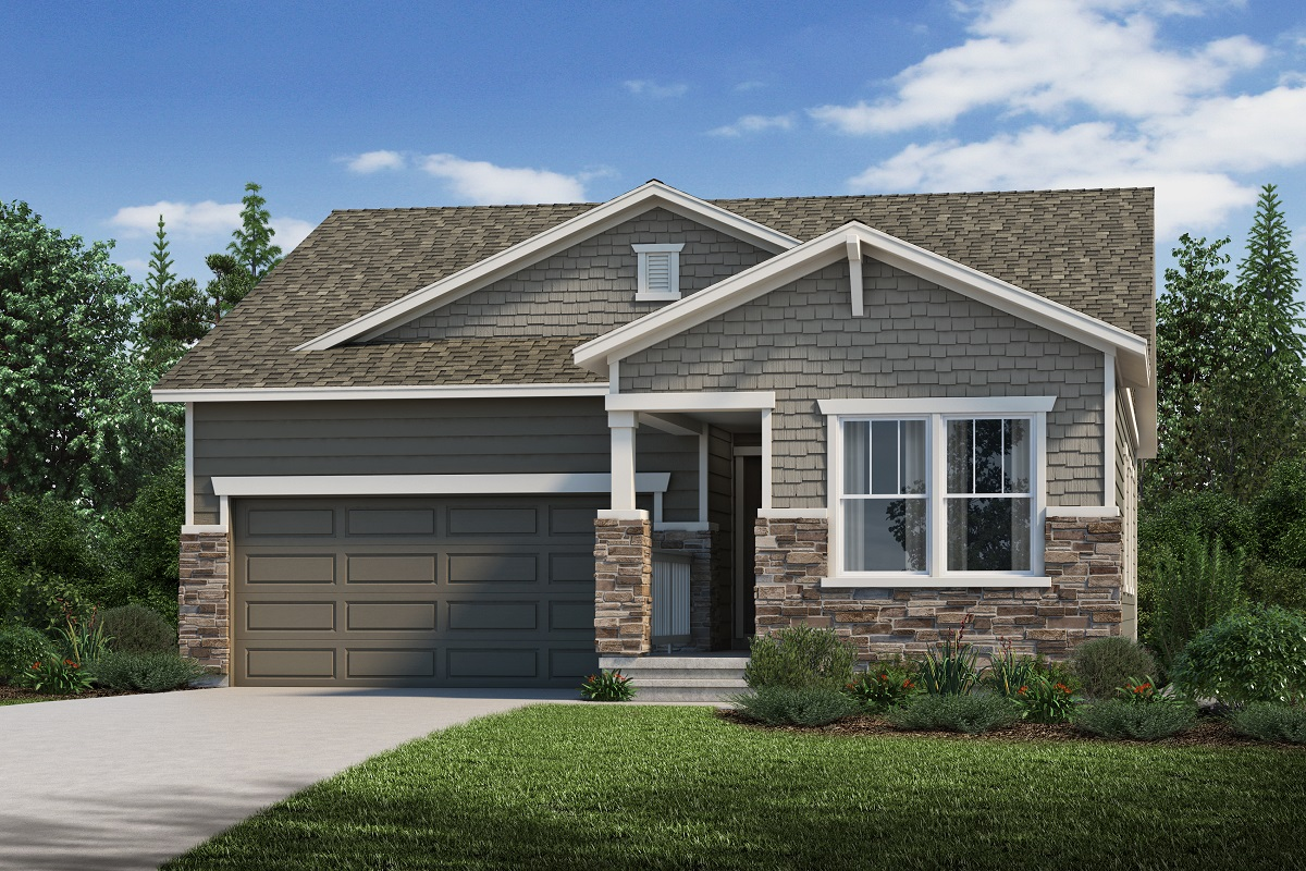 New Homes in Loveland, CO - Plan 1382 - Elevation C