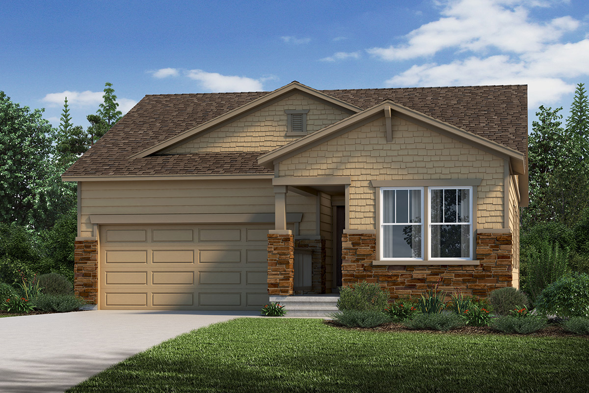 New Homes in Loveland, CO - Plan 1382 Elevation C