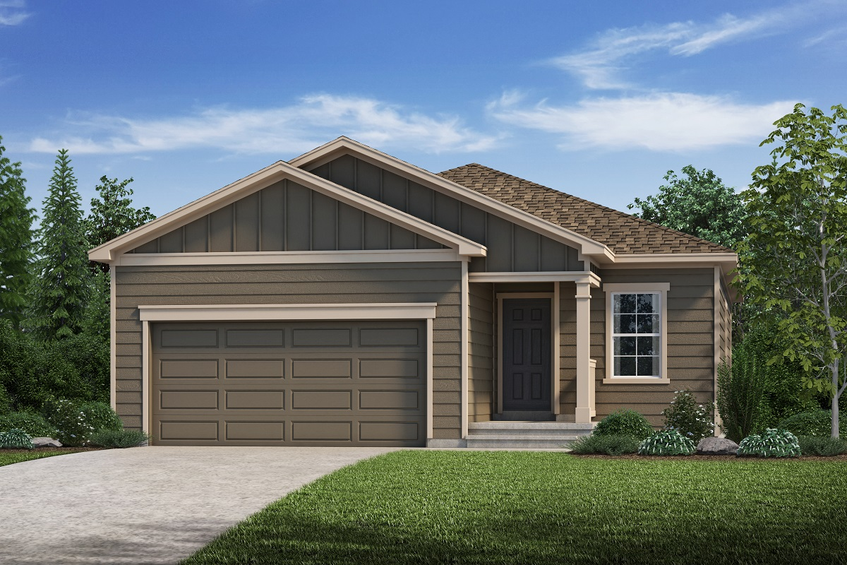 New Homes in Loveland, CO - Plan 1532 - Elevation A