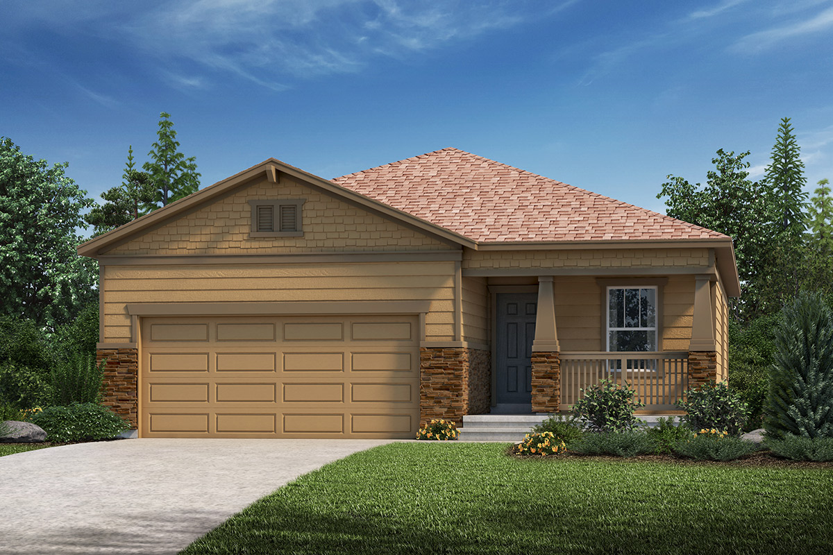New Homes in Loveland, CO - Plan 1532 Elevation C