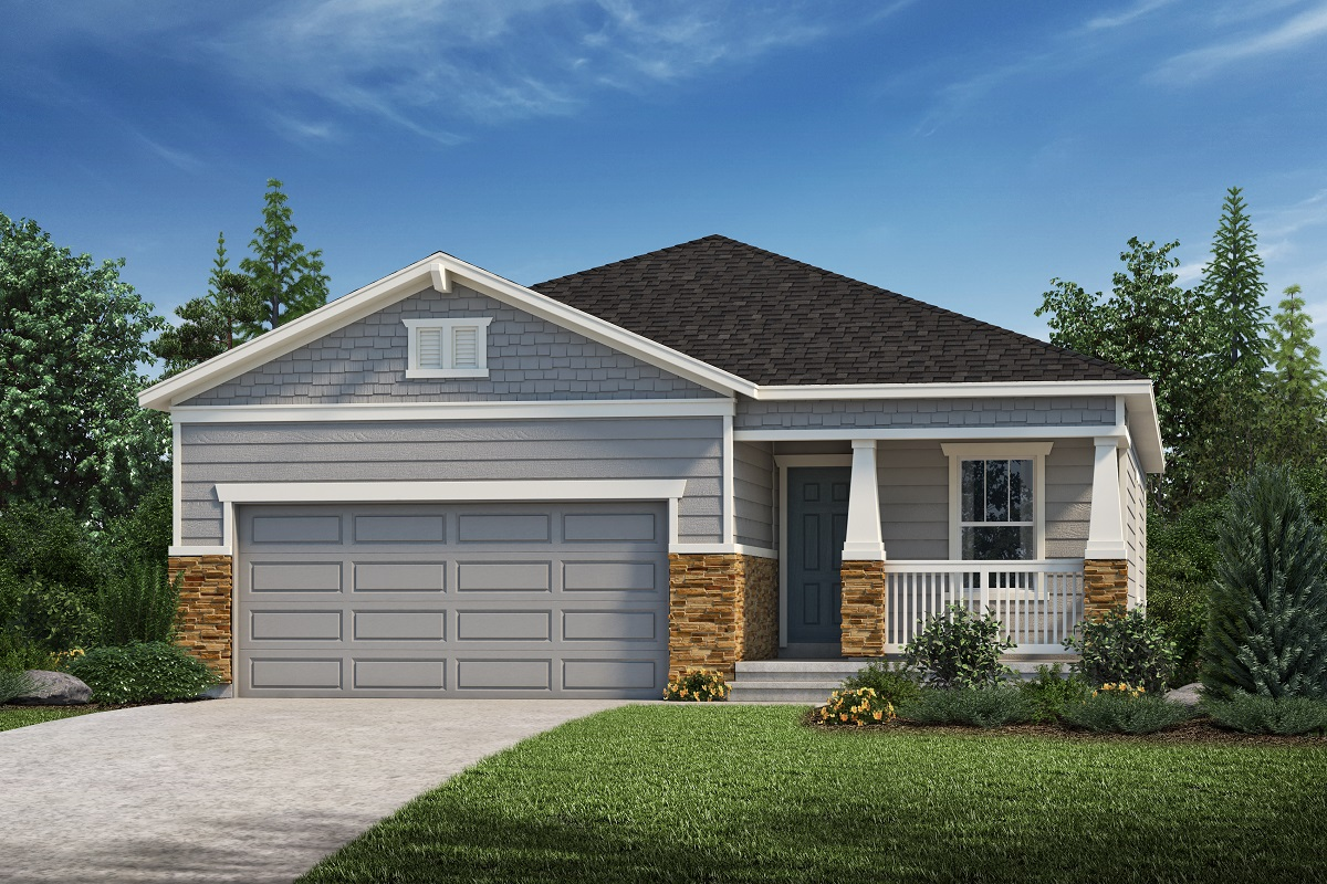 New Homes in Loveland, CO - Plan 1532 - Elevation C